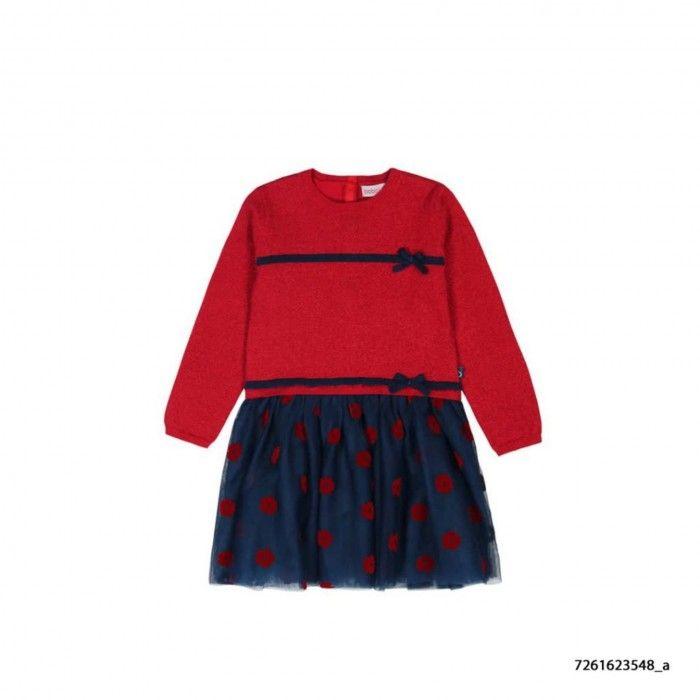Conjunto Vestido Malha & Collants