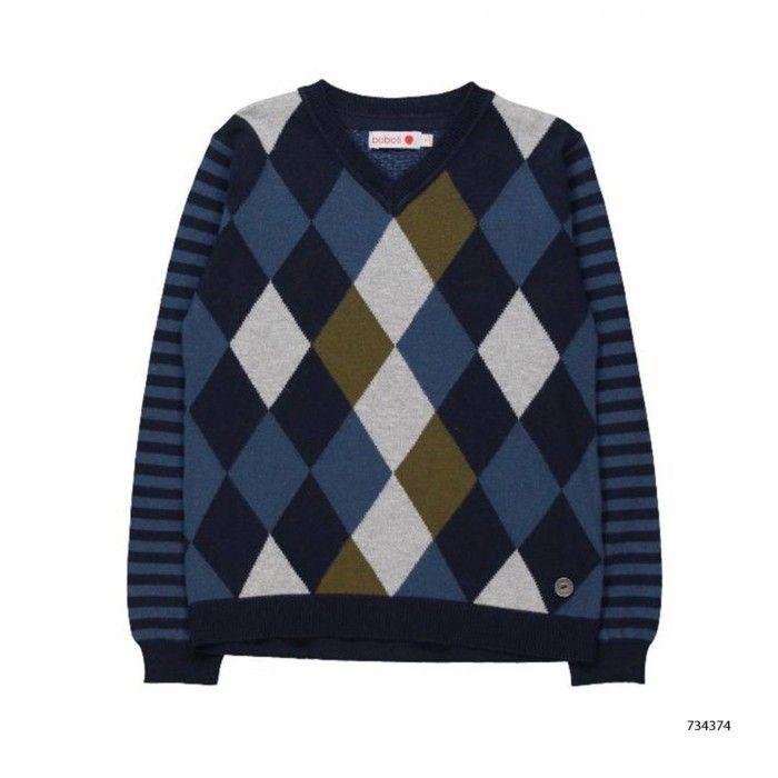 Pullover Tricot Menino