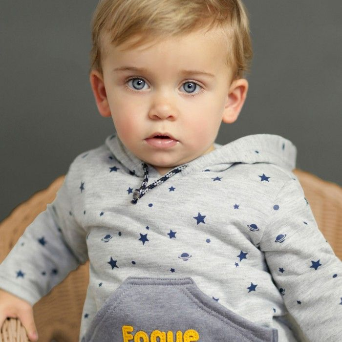Grey Hooded Sweatshirt - Cotton & Soft Fleecy Inside