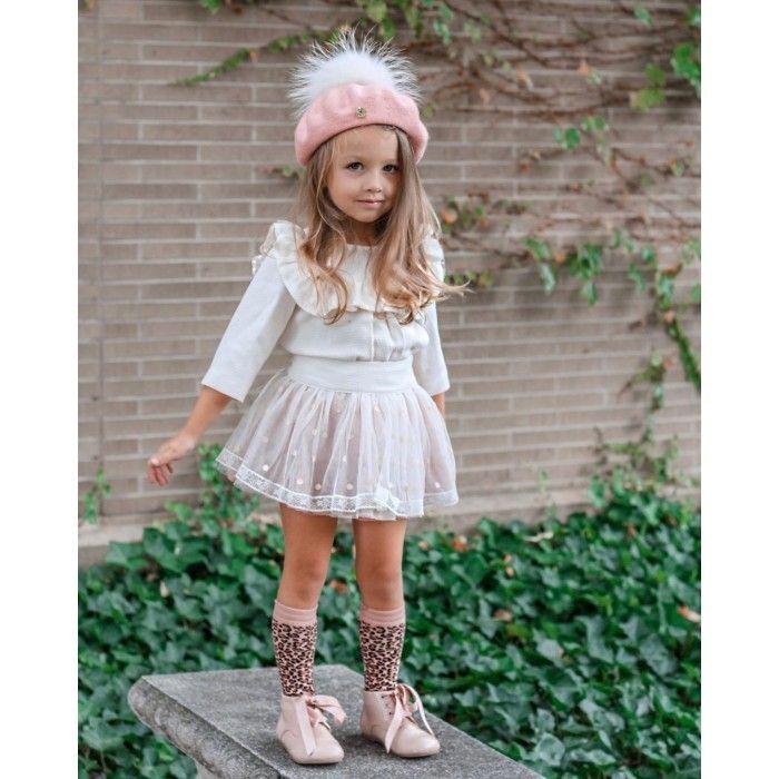 Girls Blouse & Skirt Set