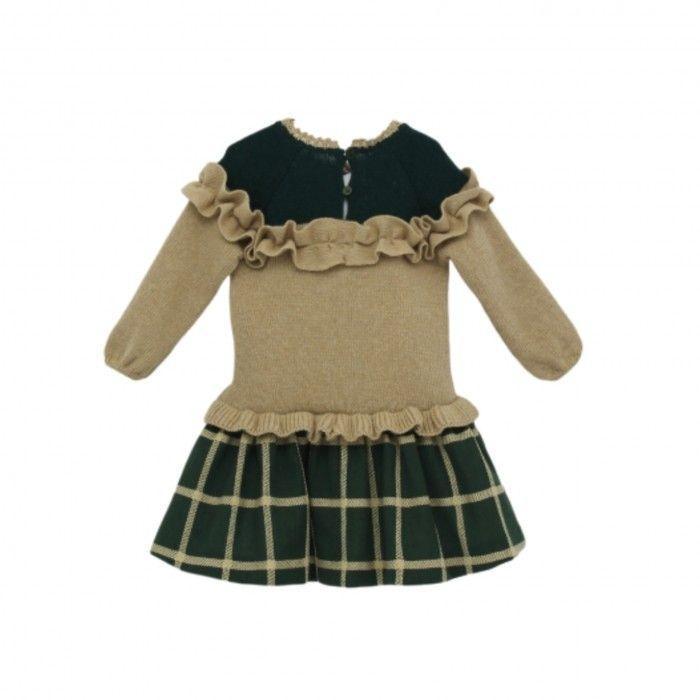 Vestido Combinado Menina