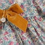 Vestido Menina Flores Silvestres