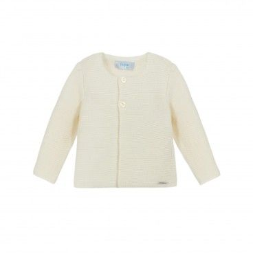 Foque Ivory Knitted Cardigan