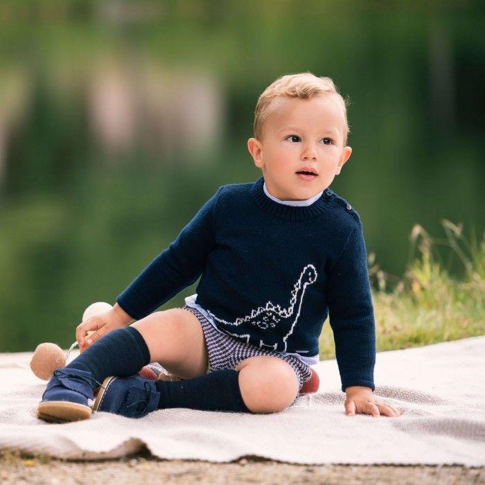 Baby Boys Blue Shorts Set