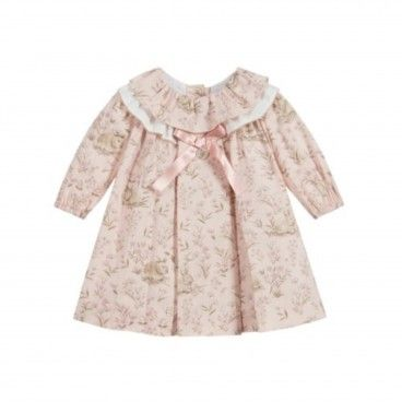 Soft Pink Cotton Dress
