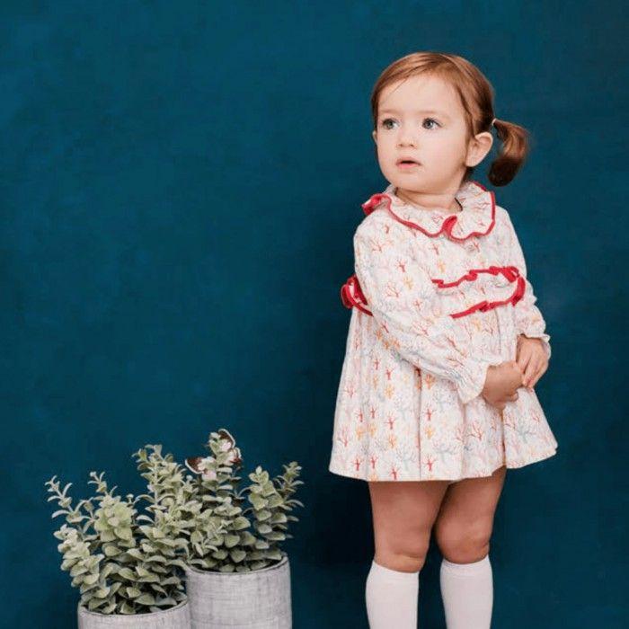 Foque Baby Girls Dress Set