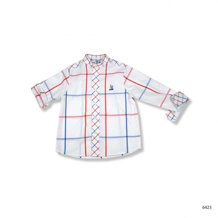 Camisa Menino Algodão Mykonos
