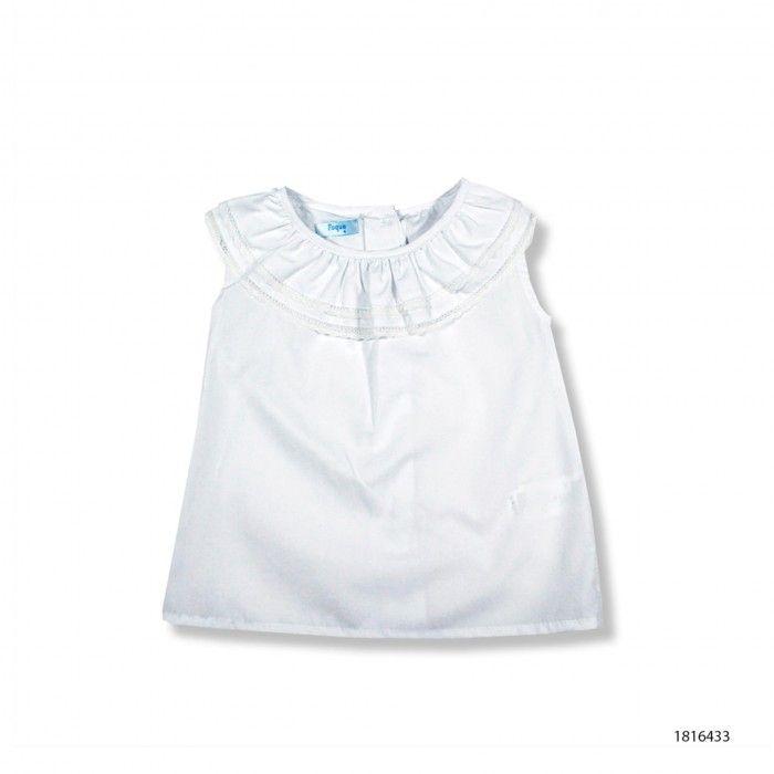 Camisa Branca Algodão Foque