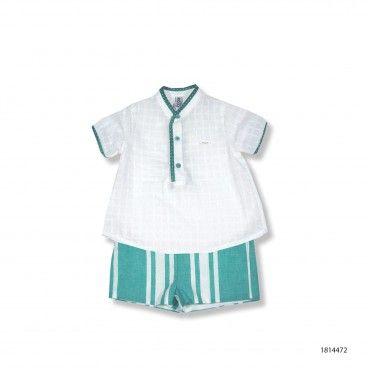 Conjunto Menino Calção e Camisa