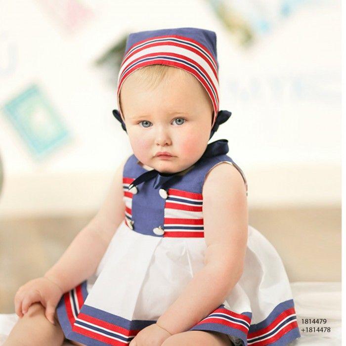 Vestido Bebé Mykonos + Tapa Fralda