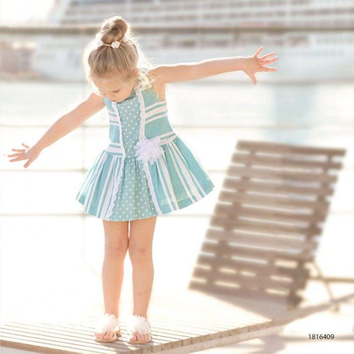 Girl Dress Monaco