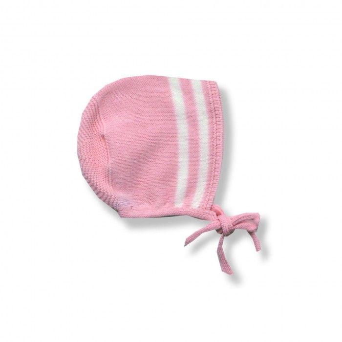 Pink Baby Girls Knitted Dress Set