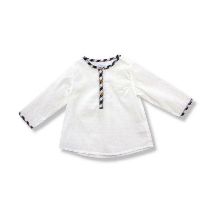 Conjunto Menino Camisa & Calção Mostarda