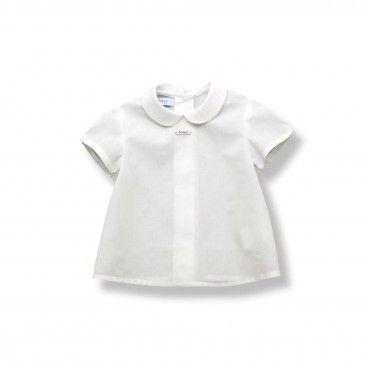 Baby White Cotton Blouse