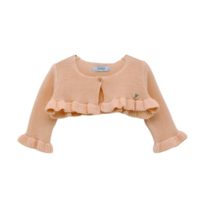 Pink Cotton Cardigan
