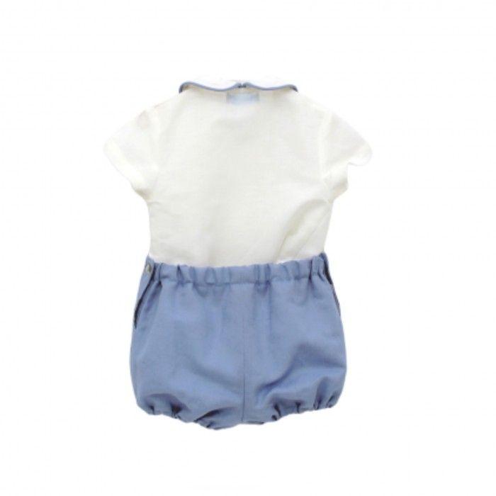 Conjunto Menino Azul - Camisa & Calção