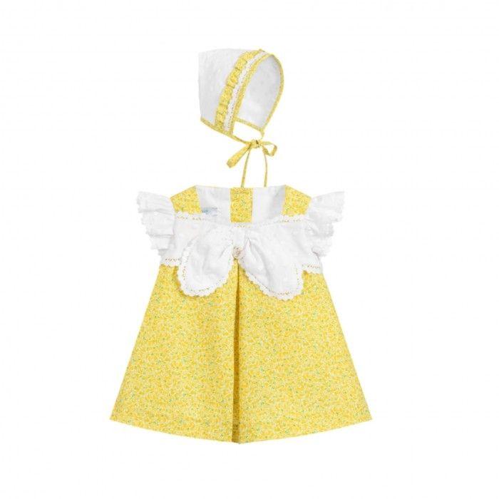 Conjunto Menina Amarelo 3 Peças