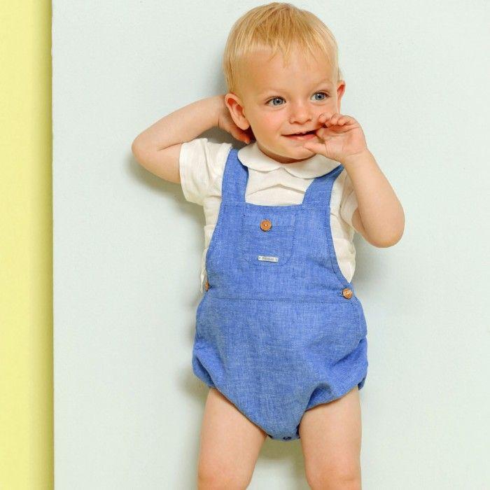 Conjunto Linho Azul Bebé