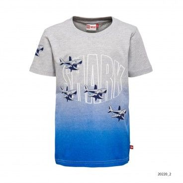 Thomas T-Shirt Algodão Azul