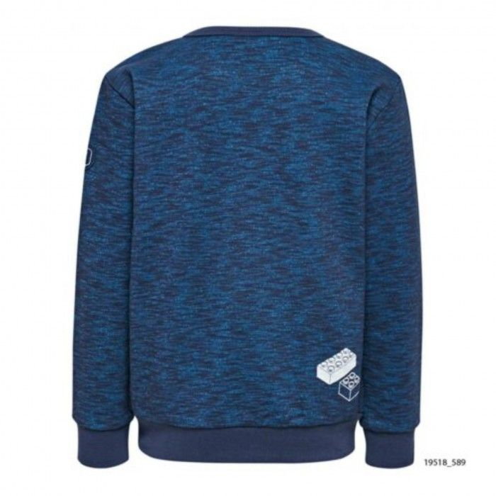 Sweatshirt Azul Algodão Saxton