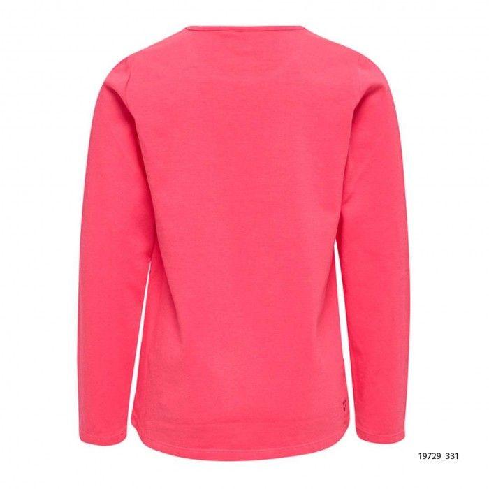 Sweatshirt Algodão Rosa Tallys