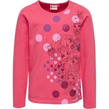 Pink Cotton T- Shirt Tallys