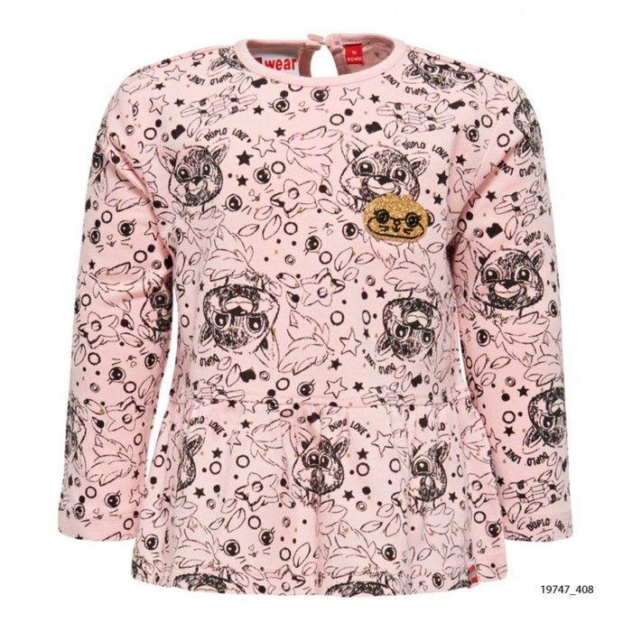 Baby Pink Cotton T-Shirt