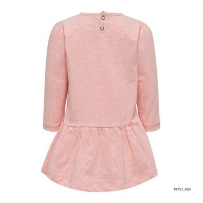 Pink Cotton Dress Diana