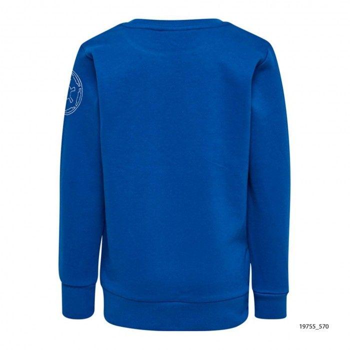 Sweatshirt Algodão Azul Lego
