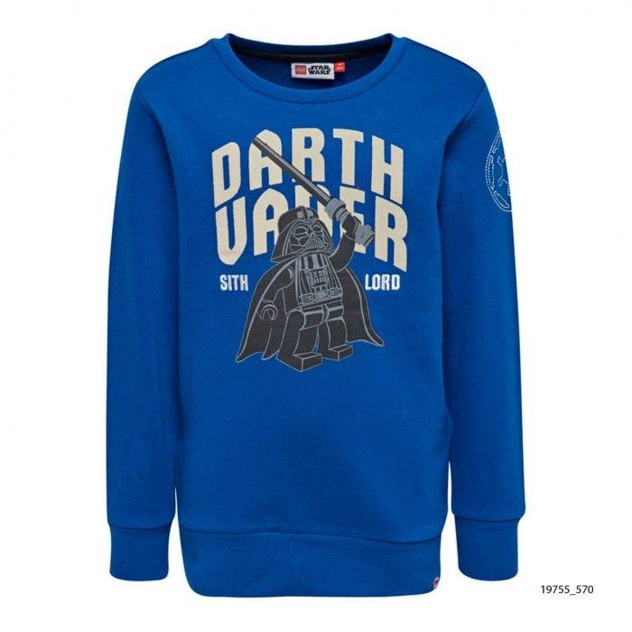 Boys Blue Sweatshirt Saxton
