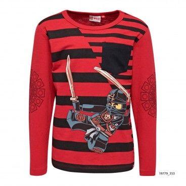 Sweatshirt Algodão Vermelha Teo