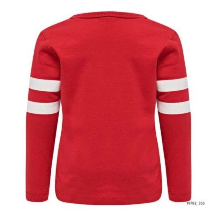 Baby Red Cotton Sweatshirt