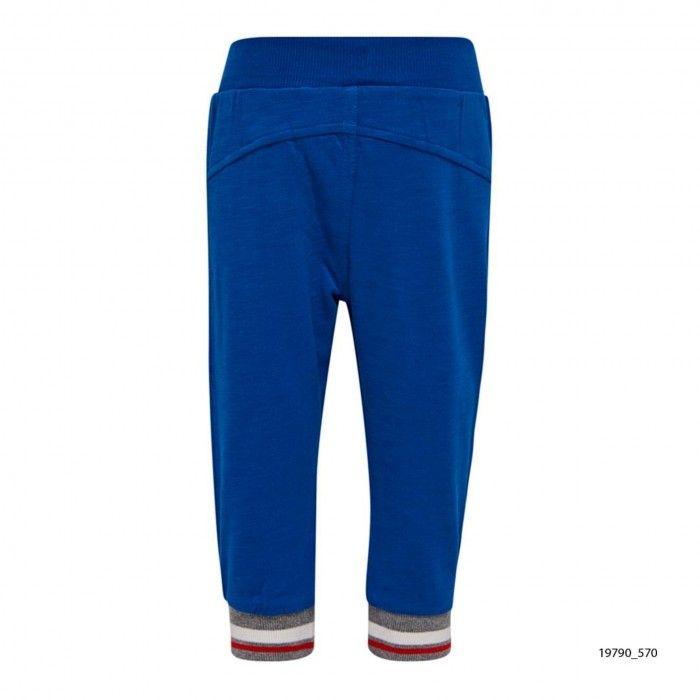 Blue Cotton Sweatpants Parkin