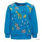 Baby Blue Cotton Sweatshirt