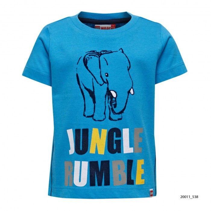 T-Shirt Algodão Menino Azul