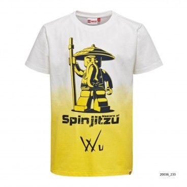 T-Shirt Menino Amarela Thomas