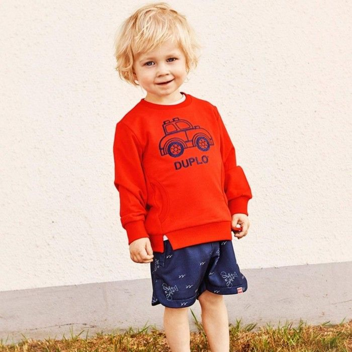 Sweatshirt Vermelha Menino Sander
