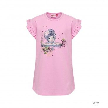 Girls Cotton T-Shirt Tillie
