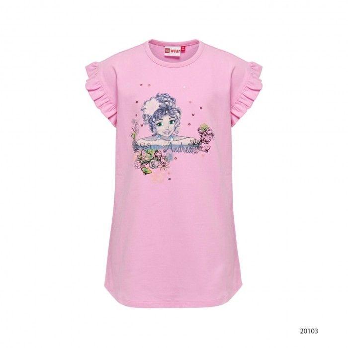 Girls Cotton T-Shirt Tillie