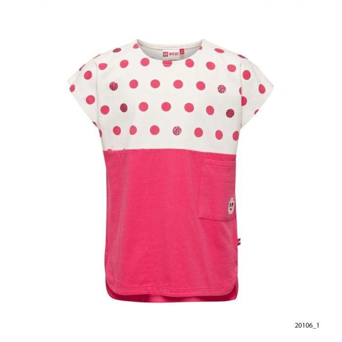 Girls Dot Cotton T-Shirt Tanya