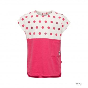 Girls Dot Cotton T-Shirt Tanya