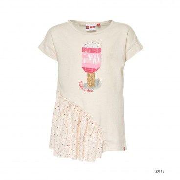 Girls Cotton T-Shirt Tanya