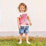 Girls Poppy Denim Shorts