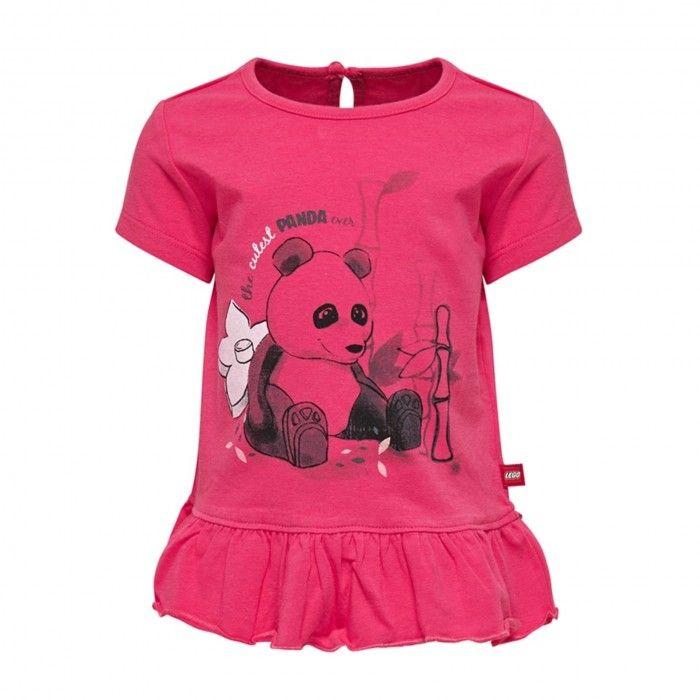 T-Shirt Menina Vermelha Thea
