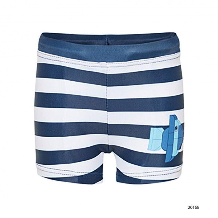 Andrew Navy Swim Shorts