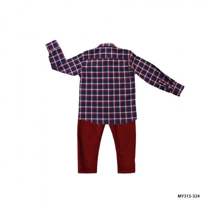 Conjunto Menino - Camisa & Calça