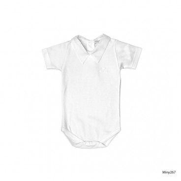 Body Branco Bebé
