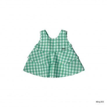 Top Vichy Verde Menina