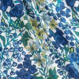 Conjunto Azul Floral Nanos