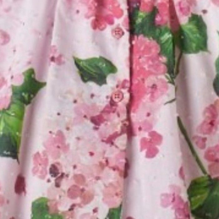 Conjunto Floral Algodão Rosa Nanos